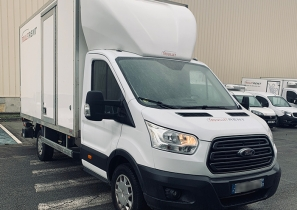 UTILITAIRE CHASSIS CABINE - FORD TRANSIT  - HAYON - 18 000 €