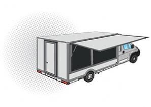 FOOD TRUCK - UTILITAIRE PLANCHER CABINE - FIAT DUCATO - 38 000 €