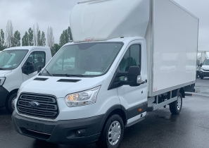 UTILITAIRE CHASSIS CABINE - FORD TRANSIT - HAYON - 29 490 €