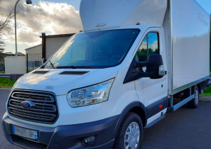 UTILITAIRE CHASSIS CABINE - FORD TRANSIT - HAYON - 27 990 €