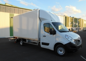 UTILITAIRE FOURGON 3T5 PLANCHER CABINE - RENAULT MASTER L3H1 130CV